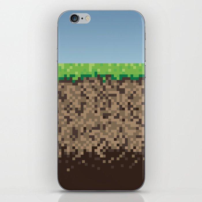 Minecraft Block iPhone Skin by scottcolemandesign