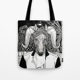 The Cryptids - The Jersey Devil Tote Bag