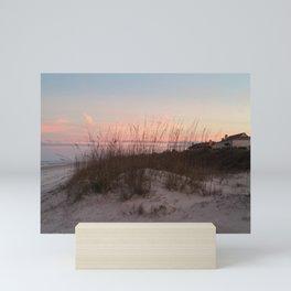 Sunset Behind the Sea Oats Mini Art Print