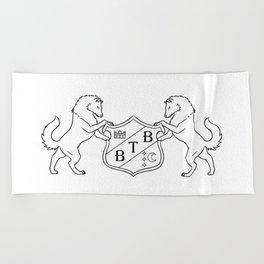 Barton Full Decorative Crest Beach Towel
