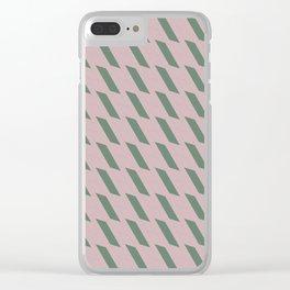 Lluvia Verde Clear iPhone Case