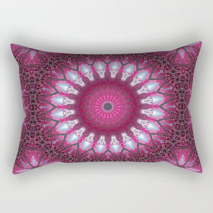 Kaleidoscope pink colors. Rectangular Pillow