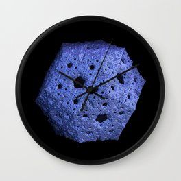 3D Fractal Dodecahedron Wall Clock
