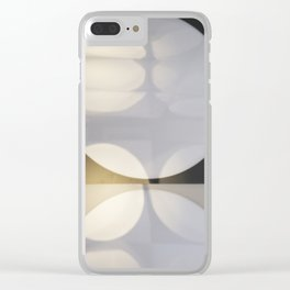 Light Patterns Clear iPhone Case