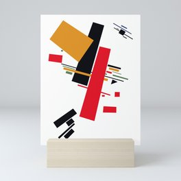 Geometric Abstract Malevic #13 Mini Art Print