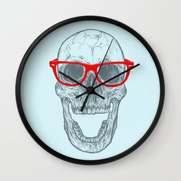 Smart-Happy Skully Wall Clock