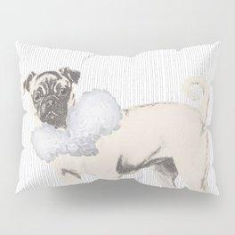 Pug in a Ruff Pillow Sham