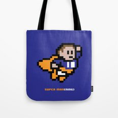 8-Bit: Super Man(ning) Tote Bag
