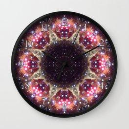 Space Mandala no6 Wall Clock