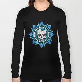 skull of the flower Long Sleeve T-shirt