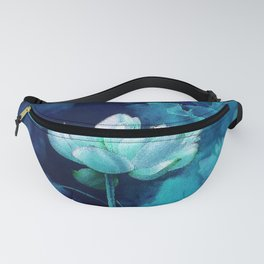 Moonlight Water Lily Fanny Pack