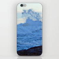 geology iPhone & iPod Skins featuring Exploding Surf  by DanByTheSea