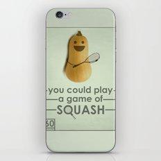 SQUASH  iPhone & iPod Skin