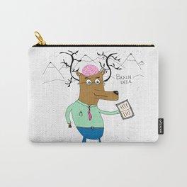 Brain Deer Carry-All Pouch