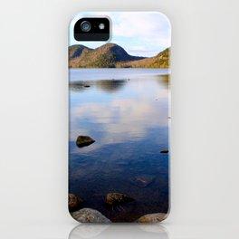 Peaceful Jordan Pond iPhone Case