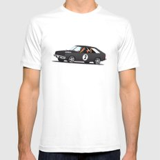 Index of Effulency  White SMALL Mens Fitted Tee