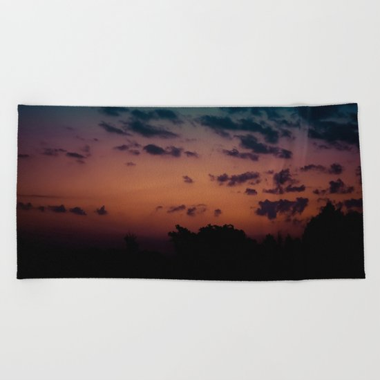 Calm Madness Beach Towel