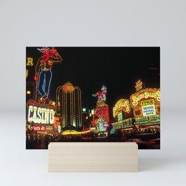 Las Vegas Lights Mini Art Print