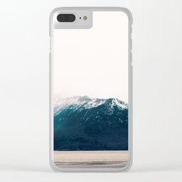 mountains 3 Clear iPhone Case