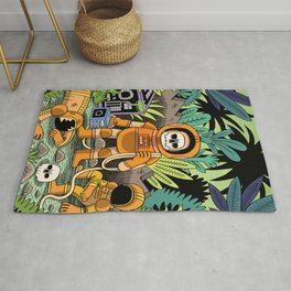 Lost contact Rug