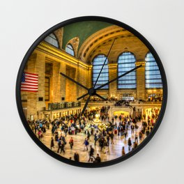 Grand Central Station New York Wall Clock