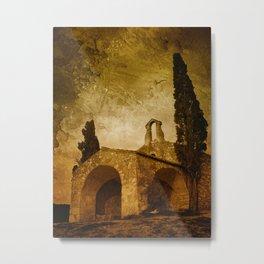 The Lost Chapel Metal Print