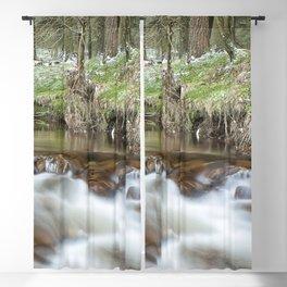 Winter stream Blackout Curtain
