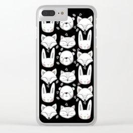Scandinavian Forest Clear iPhone Case