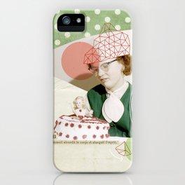 Paresse iPhone Case