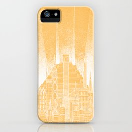 Sun Celestial City iPhone Case