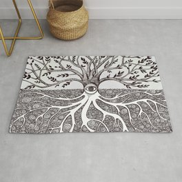 Tree of Life as above so below Rug