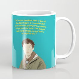 Benedict Cumberbatch as James  Coffee Mug