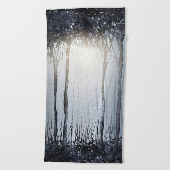 Calling The Sun XV Beach Towel