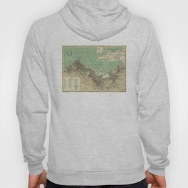 Vintage Map of Algiers Algeria (1912) Hoody