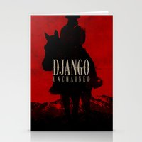 django Stationery Cards featuring Django Unchained by Onemediagroup