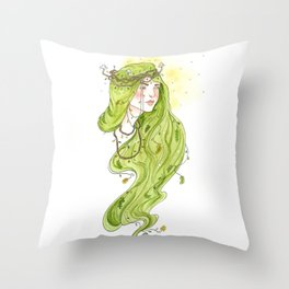Fair Folk Mother  Throw Pillow