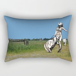 KOPPELSCHÄNKE - Das FESTIVAL Rectangular Pillow