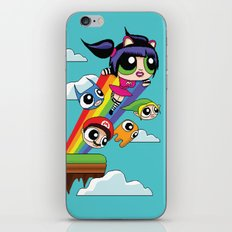 The Power Nyan Girl iPhone & iPod Skin