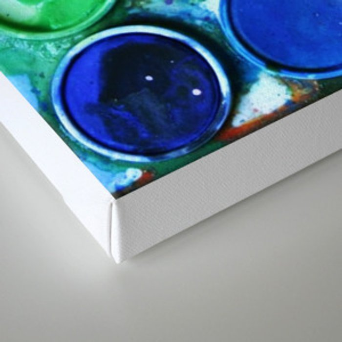 Paint box Canvas Print