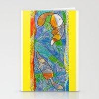 platypus Stationery Cards featuring Platypus by Nemki