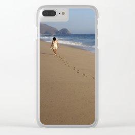 Baja California beach Clear iPhone Case