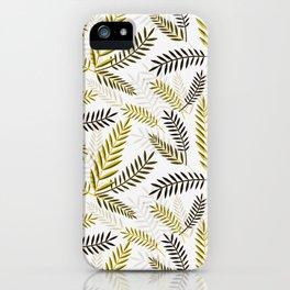 Wheat Pattern iPhone Case