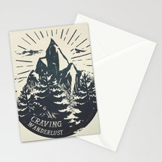 Craving wanderlust III Stationery Cards