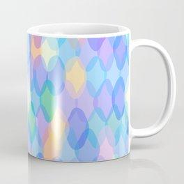 Abstract geometric pattern with rhombus Coffee Mug