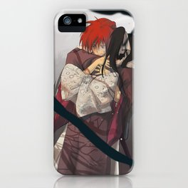 Thank you for everything, Kaoru-dono iPhone Case