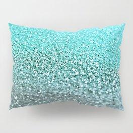 TEAL GLITTER Pillow Sham