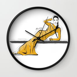 A Special Lady Wall Clock