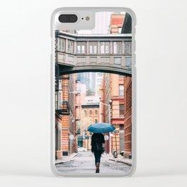 Staple Street Stranger Clear iPhone Case