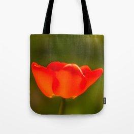La tulipe orange Tote Bag