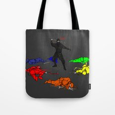 Anti-Colored Ninja Tote Bag